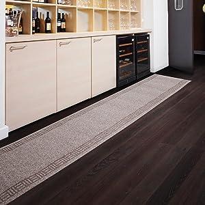 Floori Küchenläufer  9 Größen wählbar  66x700cm, beige  BaumarktKundenbewertung und weitere Informationen