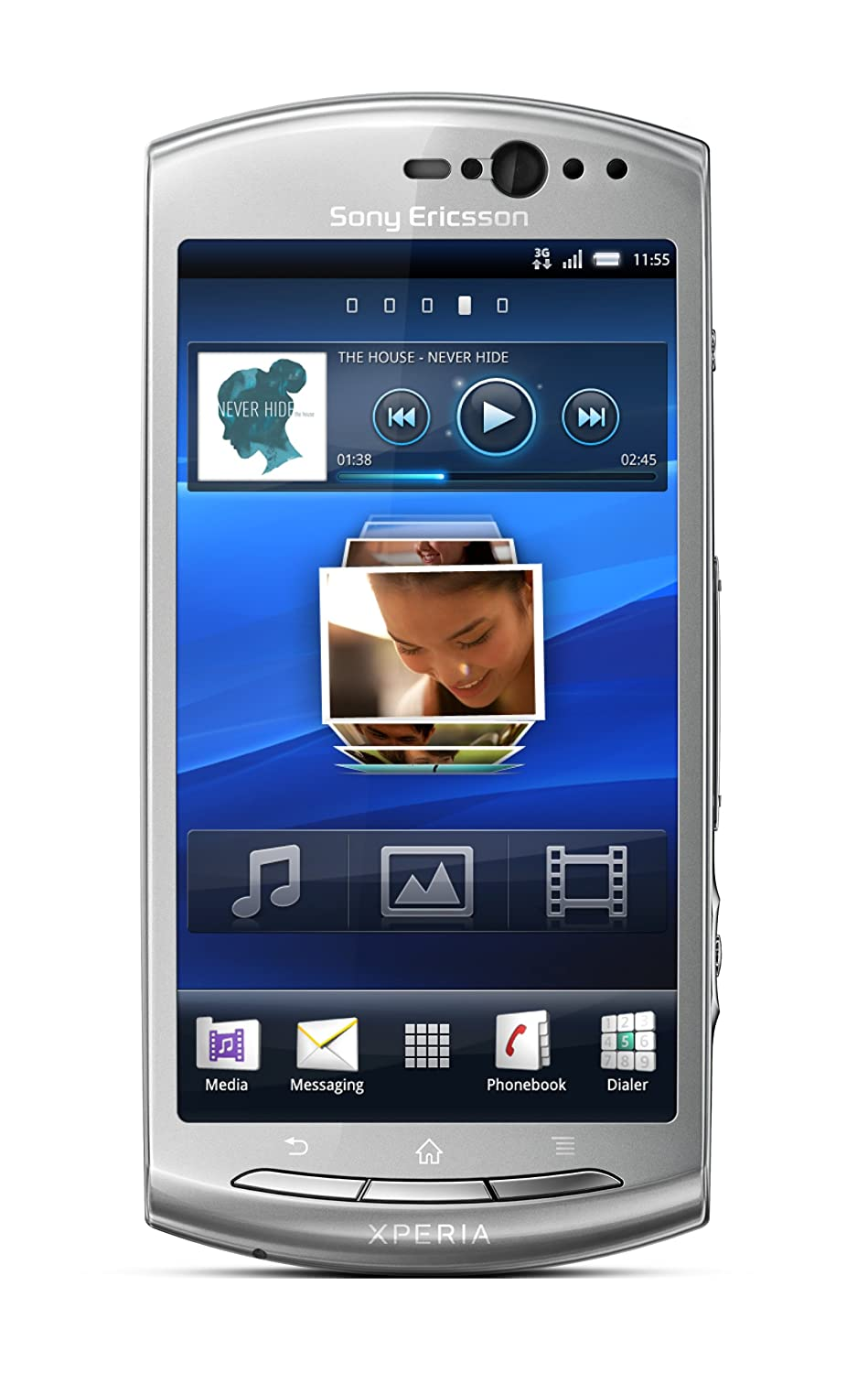 Smartphone SONY ERICSSON XPERIA KYNO GRIS