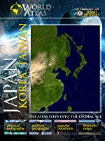 The World Atlas  JAPAN, KOREA, TAIWAN