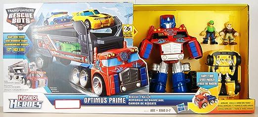 Rescue Bots Optimus Prime Toy Rescue Bots Optimus Prime