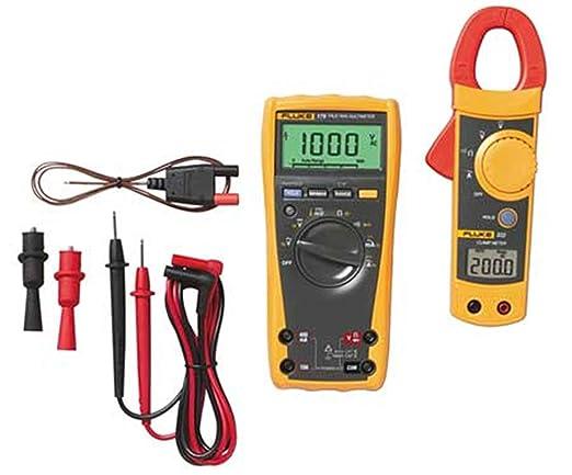 Fluke 322 Clamp Meter : Fluke imsk digital multimeter with clamp meter