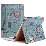 ProCase Samsung Galaxy Tab A 9.7 Case, Standing Cover Folio Case for 2015 Galaxy Tab A Tablet (9.7 Inch, SM-T550 P550), with Multiple Viewing angles, Document Card Pocket - Native (Color: z- Native, Tamaño: Galaxy Tab A 9.7)