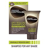 Just For Men Control GX Grey Reducing Shampoo, Gradually Colors Hair, 4 Ounce (Color: Grey)