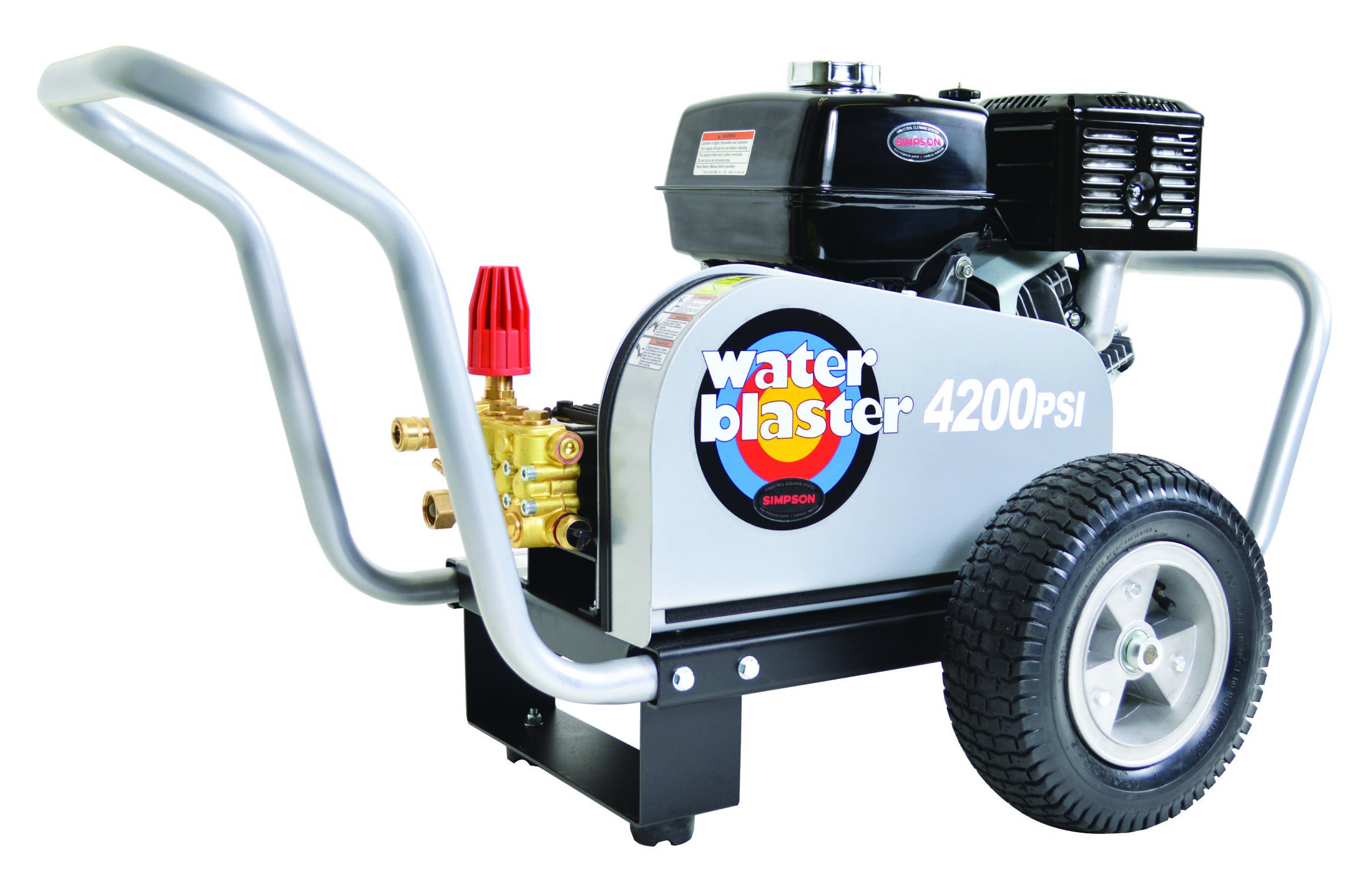 Simpson Water Blaster Commercial Gas Powered Pressure Washer 4200 PSI 3.5 GPM