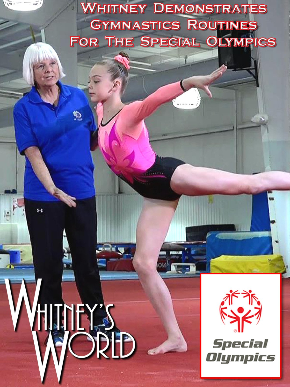 Whitney Demonstrates Gymnastics Routines for the Special Olympics on Amazon Prime Video UK
