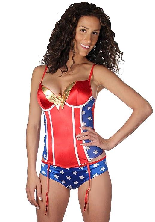 Wonder Woman Corset and Panties