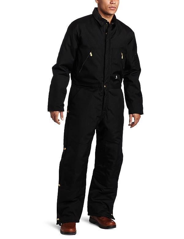 Carhartt Men's Arctic Quilt Lined Yukon Coveralls,Black,50 Tall (Color: Black, Tamaño: 50 Tall)
