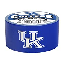 Duck Brand 240079 University of Kentucky College Logo Duct Tape, 1.88-Inch by 10 Yards, Single Roll