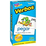 Trend Enterprises Inc Verbos (Spanish Action Words) Skill Drill Flash Cards (Color: WHITE)