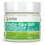 Puriya Chest Rub for Relief - Chest and Nasal Congestion Relief. Soothes Sore Throat, Dry Cough, Stuffy Nose & Sinus Infection. Works for Bronchitis, Allergies, Headaches. A Must for Cold and Flu