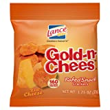 Lance Gold-N-Cheese Baked Snack Crackers, 1.25 Ounce (Pack of 60)