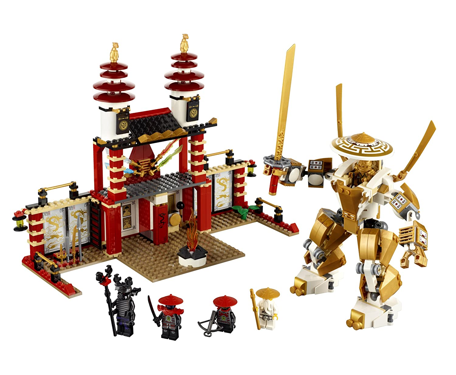 Lego ninjago temple of light - Ninja ninjago ...