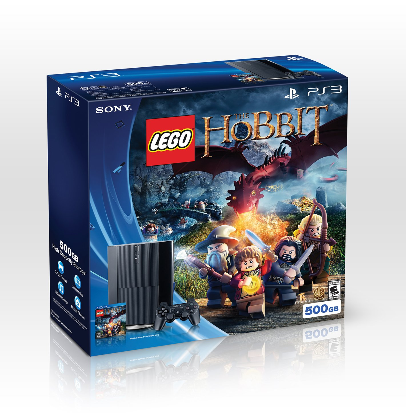 Lego Games For Ps3 : Ps gb lego the hobbit bundle video game store