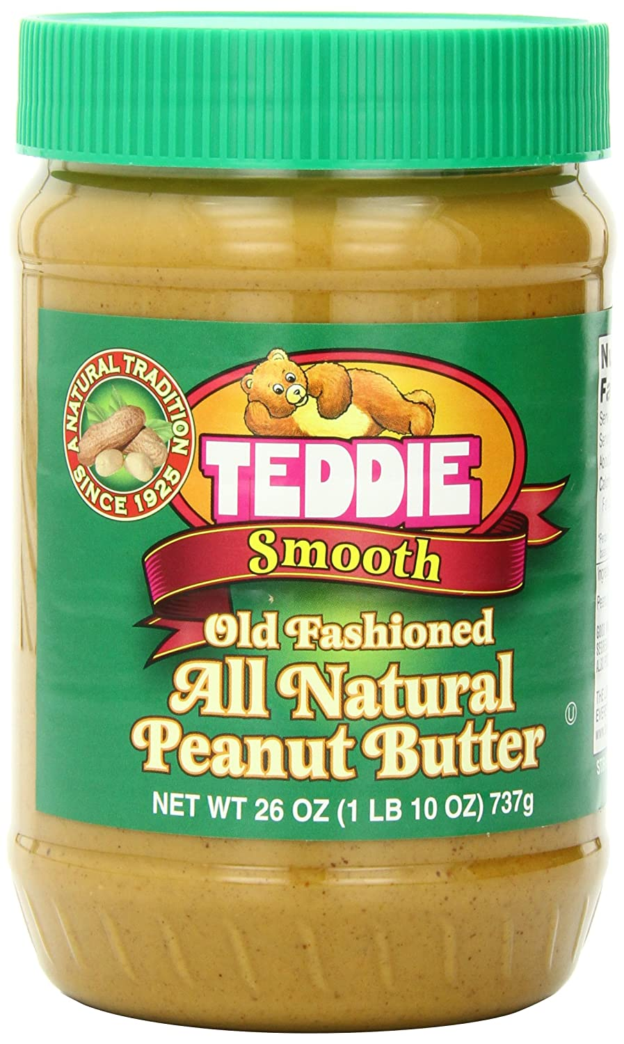 Teddie old fashioned peanut butter 98