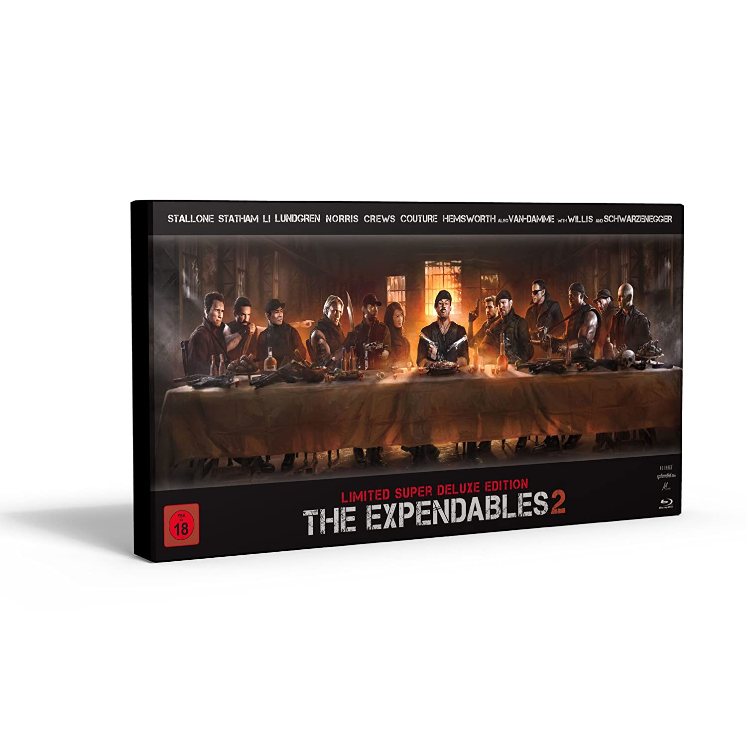 Expendables 2 Blu-ray Disc Boasts DTS Neo:X Audio