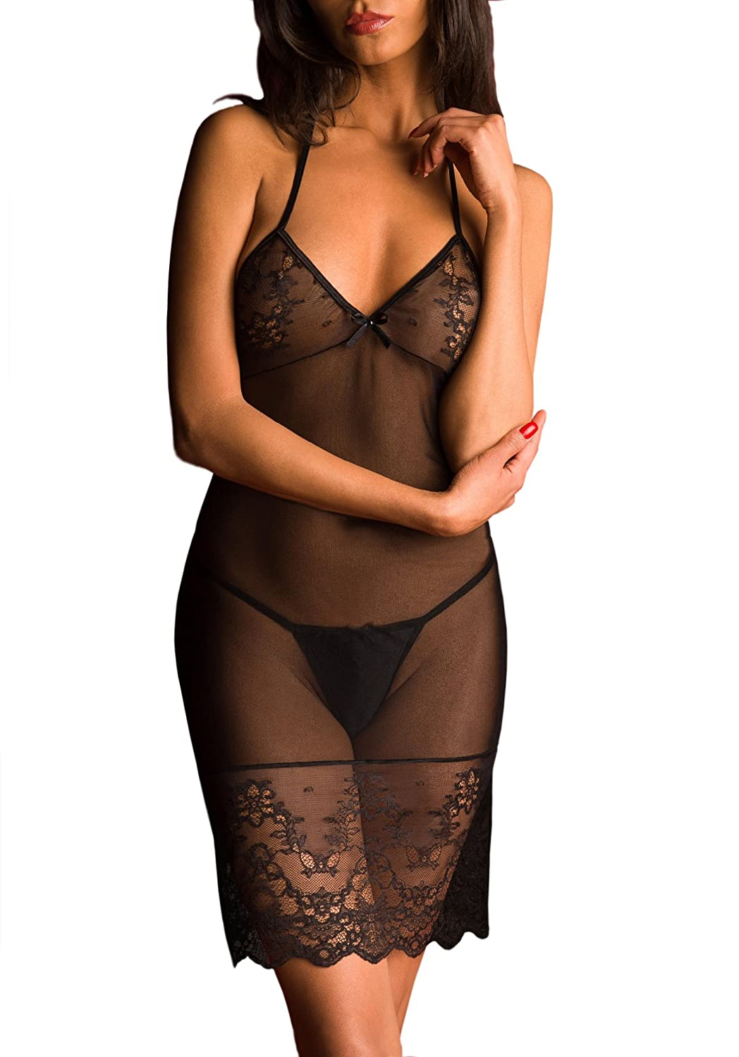 BELVERIS - Bellina - Negligee - transparent