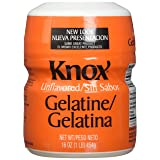 Knox Unflavored Gelatine, 16 Ounce (Pack of 2) (Tamaño: 16 Ounce (Pack of 2))