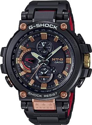 [カシオ] 腕時計 ジーショック MT-G MAGMA OCEAN Bluetooth 搭載 電波ソーラー MTG-B1000TF-1AJR メンズ ブラック