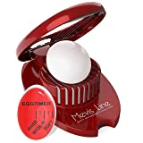 Hard Boiled Egg Slicer with Perfect Boilled Egg Timer, Also Used For Strawberries, Boiled Potatoes Or Mozzarella Balls, Egg Dicer with Egg Timer That