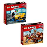 LEGO Juniors Cars 2 66574 Building Kit (121 Piece)