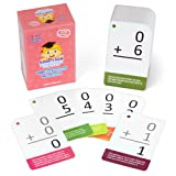 Addition Math Flash Cards with Word Problems - 175 Self-Checking Cards, All Facts 0-12 for Early Grade Teaching by Pint-Size Scholars