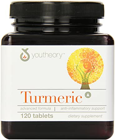 Отзывы Youtheory Turmeric Advanced Formula Tablets, 120 Count