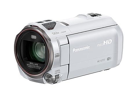 Panasonic HC-V777EG-W Camescopes Classique 1080 pixels Zoom Optique 20 x 6.03 Mpix