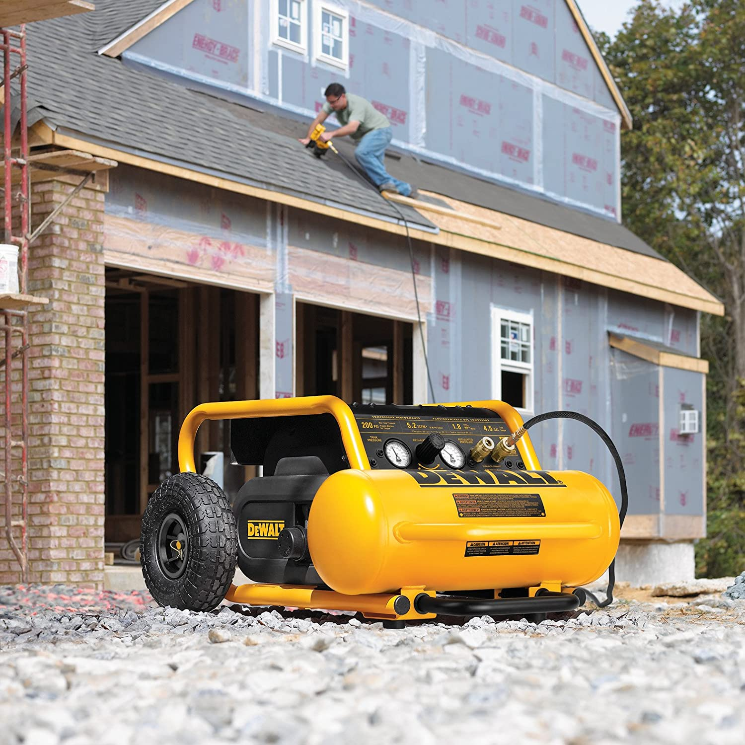 DEWALT D55146 PORTABLE AIR COmpressor