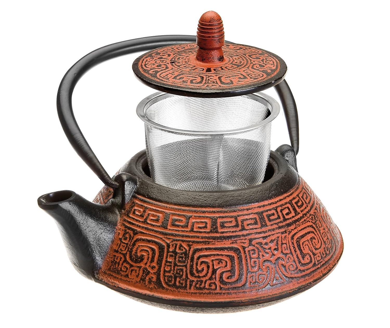 Tetera con estilo oriental de la India
