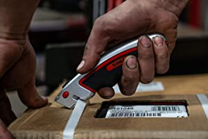 Quick Change Utility Knife (Comes with 6 Blades)