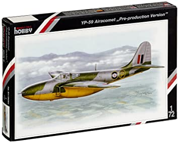 Special Hobby 72084 Bell YP-59 Airacomet Pre-production 1:72 Plastic Kit Maquette