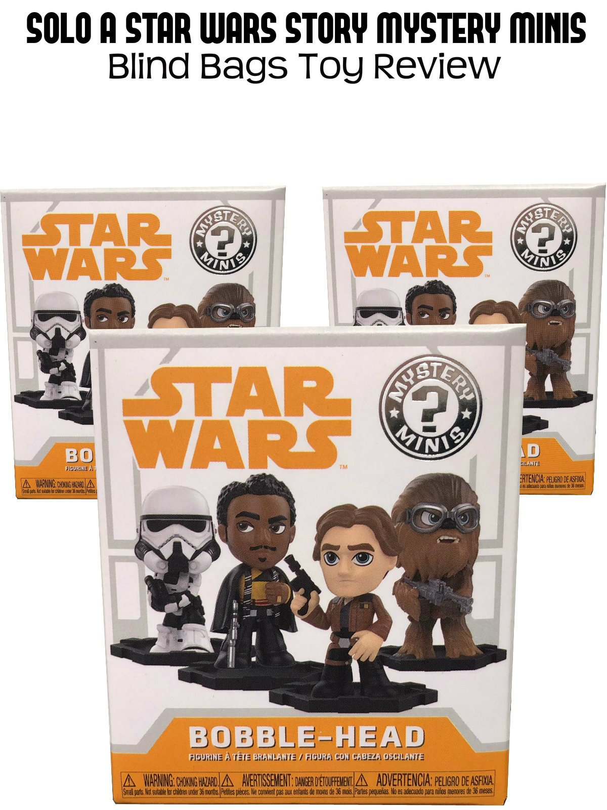 Review: Solo A Star Wars Story Mystery Minis Blind Bags Toy Review on Amazon Prime Video UK