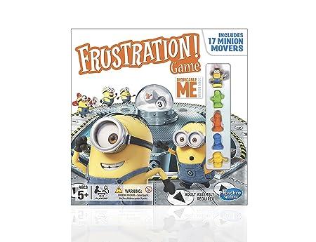 Moi, Moche et Méchant – Frustration Game – Jeu de Plateau Version Anglaise