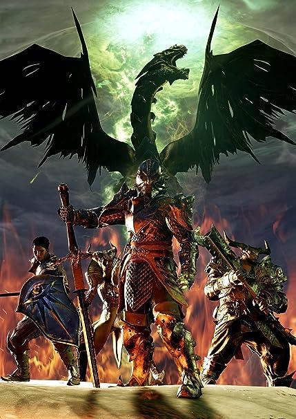 Dragon Age Inquisition Poster Amazon Dragon Age Inquisition Poster