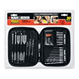 BLACK?? Quick Connect Drilling and Screwdriving Set, 30-Piece