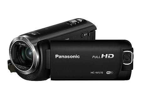 Panasonic HC-W570EG-K Camescopes Classique 1080 pixels Zoom Optique 50 x 2.51 Mpix