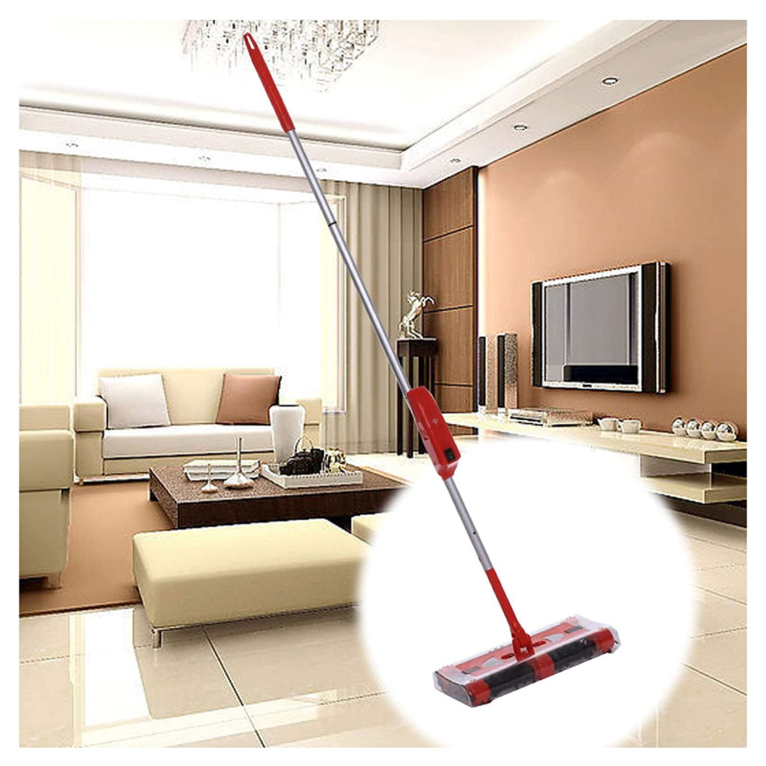Hotouch Cordless Swivel Sweeper Floor Carpet Rechargeable Stick Vacuum Clean Quick