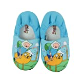 Adventure Time Childrens/Boys Official Character Design Slippers (US 3) (Blue)