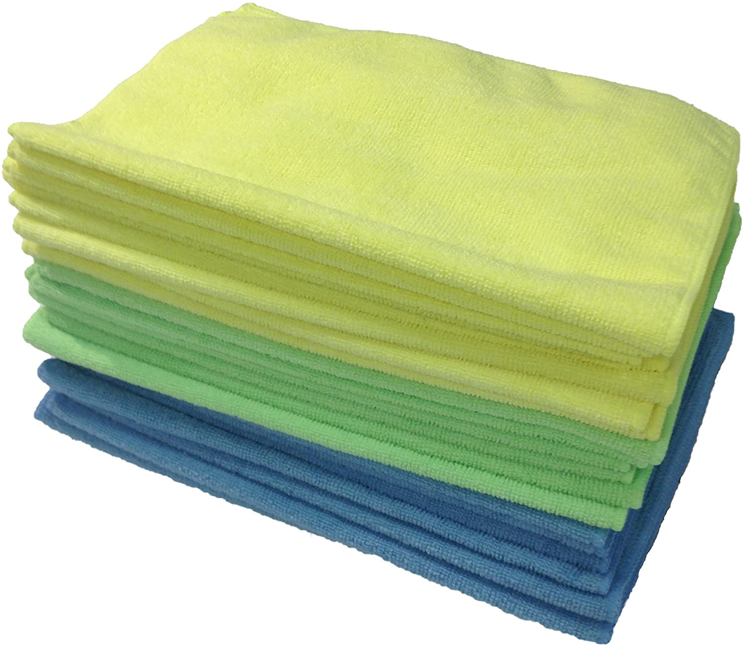 Zwipes Microfiber Cleaning Cloths & Drying Towel - 12 in. x 16 in. (24-Pack)