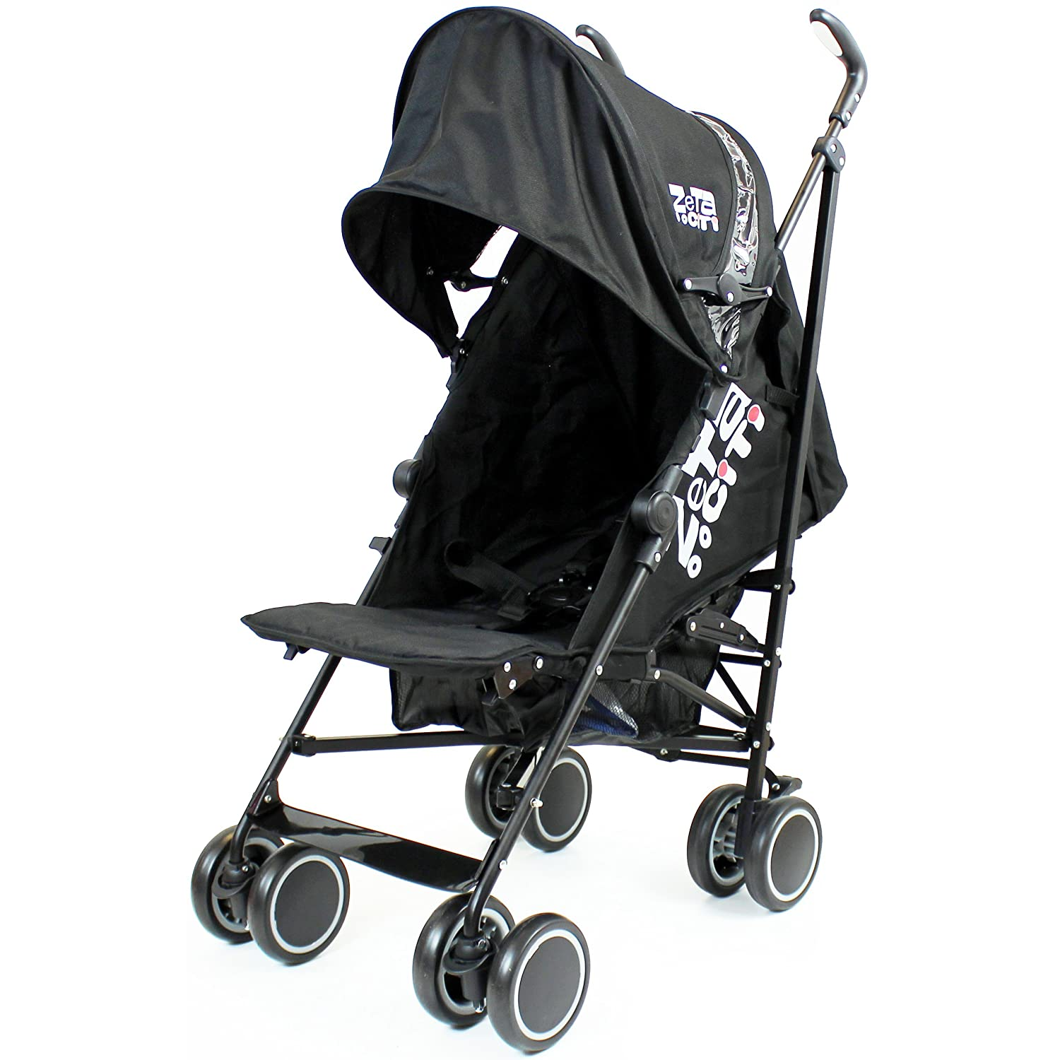 Zeta Citi Stroller Buggy Pushchair - Black