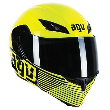 AGV Compact Audax moto casque jaune