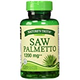 Nature's Truth Saw Palmetto 1200 mg Capsules, 120 Count