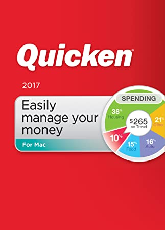Quicken For Mac 2017 Personal Finance & Budgeting Software [Download]