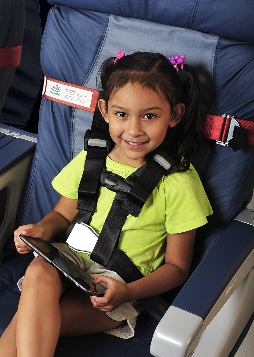 New Cares Child Airplane Travel Harness Safety Seat Belt