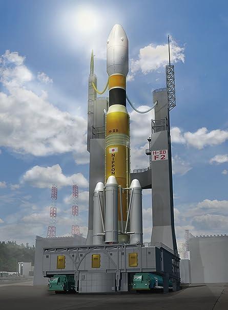 1/350 série de vaisseaux spatiaux No.09 H-IIB fusée & amp; plate-forme mobile