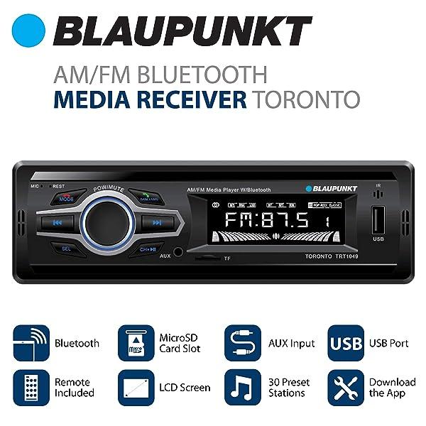 Blaupunkt AM/FM Media Receiver Toronto