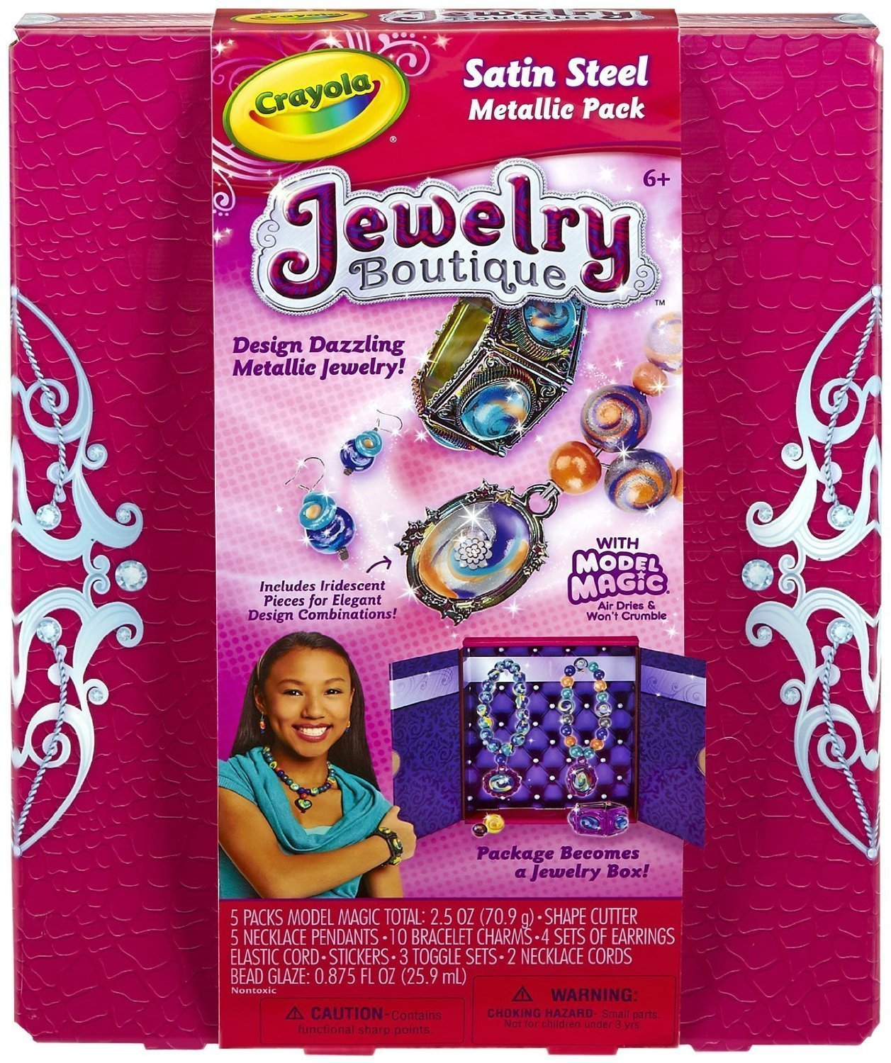 Fashion Jewelry Girls Creator Crayola Model Magic Jewelry