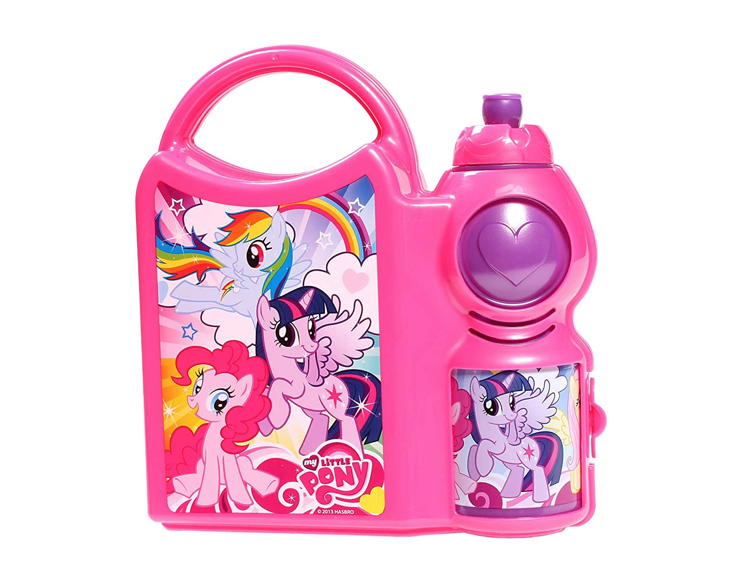 My Little Pony Lunch Box and Water Bottle Combo Set