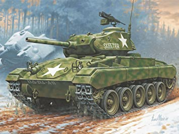 Revell - Maquette - M24 Chaffee  - Echelle 1:76