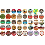 40 K Cup Variety Pack - Flavored Coffee Only - Delicious New Flavored Coffees